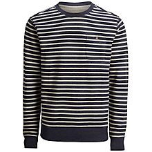 Buy Selected Homme Sway Sweatshirt, Navy Blazer Online at johnlewis.com