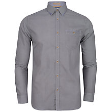 Buy Ted Baker Rohood Polka Dot Shirt, White/Navy Online at johnlewis.com