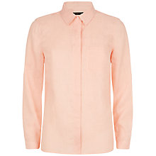 Buy Jaeger Casual Linen Shirt Online at johnlewis.com