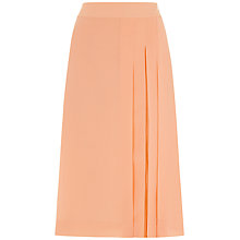 Buy Jaeger Soft Opaque Panel Skirt, Toast Online at johnlewis.com