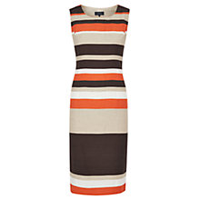 Buy Viyella Striped Shift Dress, Paprika Online at johnlewis.com