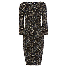 Buy Warehouse Petal Print Dress, Multi Online at johnlewis.com