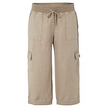 Buy White Stuff Chattering Cropped Trousers, Natural Online at johnlewis.com