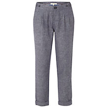 Buy White Stuff Pixie Ankle Grazer Trousers, Navy Online at johnlewis.com