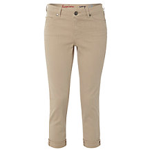Buy White Stuff Southern Ocean Cropped Jeans, Pale Rope Online at johnlewis.com