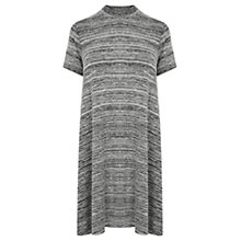 Buy Warehouse Space Dye Dress, Light Grey Online at johnlewis.com