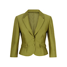 Buy Hobbs Gracie Jacket, Water Lily Green Online at johnlewis.com