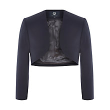 Buy Viyella Cropped Bolero Jacket, Navy Online at johnlewis.com