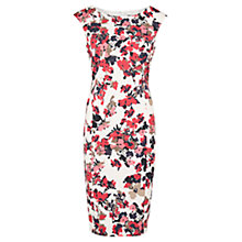 Buy Viyella Scatter Floral Shift Dress, Rose Online at johnlewis.com