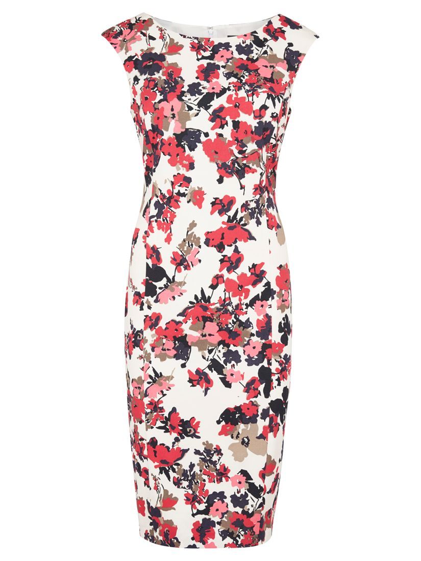 viyella scatter floral shift dress rose, viyella, scatter, floral, shift, dress, rose, 16|10|14|12|18|8|20, women, plus size, womens dresses, special offers, womenswear offers, up to 30% off selected viyella, 1901579