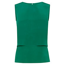 Buy Hobbs Kora Top, Lawn Green Online at johnlewis.com