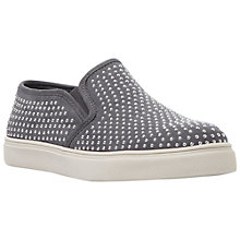 Buy Steve Madden Excitt Plimsolls, Grey Online at johnlewis.com
