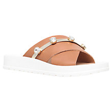 Buy Miss KG Rara Leather Diamante Slider Sandals Online at johnlewis.com