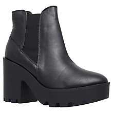 Buy Miss KG Stomp Chunky Heel Chelsea Boots, Black Online at johnlewis.com