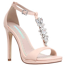 Buy Miss KG Elsa High Heel Sandals, Nude Online at johnlewis.com
