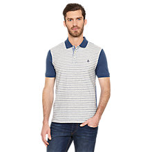 Buy Original Penguin Jamp Stripe Polo Shirt, Dark Denim Online at johnlewis.com
