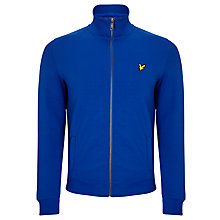 Buy Lyle & Scott Tricot Zip Track Jacket, Duke Blue Online at johnlewis.com