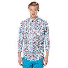 Buy Original Penguin Blossom Floral Print Shirt, Dress Blues Online at johnlewis.com