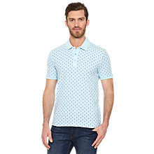 Buy Original Penguin Pete Repeat Logo Polo Shirt, Crystal Blue Online at johnlewis.com
