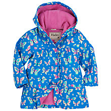 Buy Hatley Girls' Butterflies Classic Raincoat, Blue Online at johnlewis.com