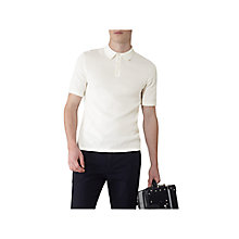 Buy Reiss Hector Open Weave Polo Shirt Online at johnlewis.com