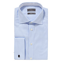 Buy John Lewis Luxury Houndstooth Double Cuff Shirt with Metal Cufflinks Online at johnlewis.com
