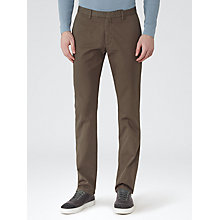 Buy Reiss Tullum Heavyweight Twill Chinos, Khaki Online at johnlewis.com