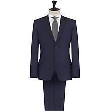 Buy Reiss Silver Modern Fit Wool and Mohair Suit, Navy Online at johnlewis.com