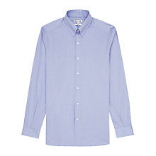 Buy Reiss Belfort Collar Pin Shirt, Sky Blue Online at johnlewis.com