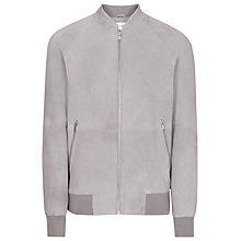 Buy Reiss Toulon Suede Bomber Jacket Online at johnlewis.com