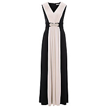 Buy Kaliko Colour Block Maxi Dress, Black Online at johnlewis.com