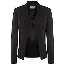 Buy Planet Jacquard Jacket, Black Online at johnlewis.com