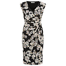 Buy Kaliko Floral Printed Lace Dress, Multi Online at johnlewis.com