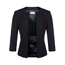 Buy Planet Textured Jacket, Navy Online at johnlewis.com