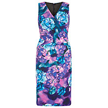 Buy Planet Hydrangea Print Dress, Multi Pink Online at johnlewis.com