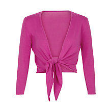 Buy Kaliko Cropped Sleeve Shrug, Dark Pink Online at johnlewis.com