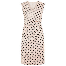 Buy Planet Pearl Spot Dress, Oyster Online at johnlewis.com