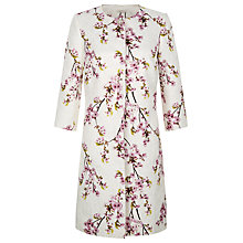 Buy Kaliko Jacquard Printed Jacket, Cream Online at johnlewis.com