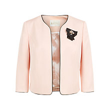 Buy Kaliko Ottoman Jacket, Pastel Pink Online at johnlewis.com