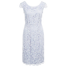 Buy Kaliko Lace Shift Dress, Lilac Online at johnlewis.com