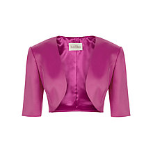 Buy Kaliko Ottoman Bolero Jacket, Mid Pink Online at johnlewis.com