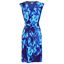 Buy Planet Haze Print Dress, Mid Blue Online at johnlewis.com