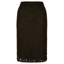 Buy Planet Lace Pencil Skirt, Black Online at johnlewis.com