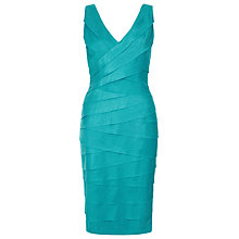 Buy Planet Shutter Dress, Turquoise Online at johnlewis.com