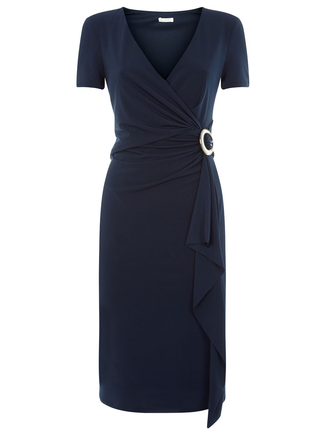 planet front frill ity dress navy, planet, front, frill, ity, dress, navy, 14|10|8|12|18|20|16, women, plus size, womens dresses, 1887177