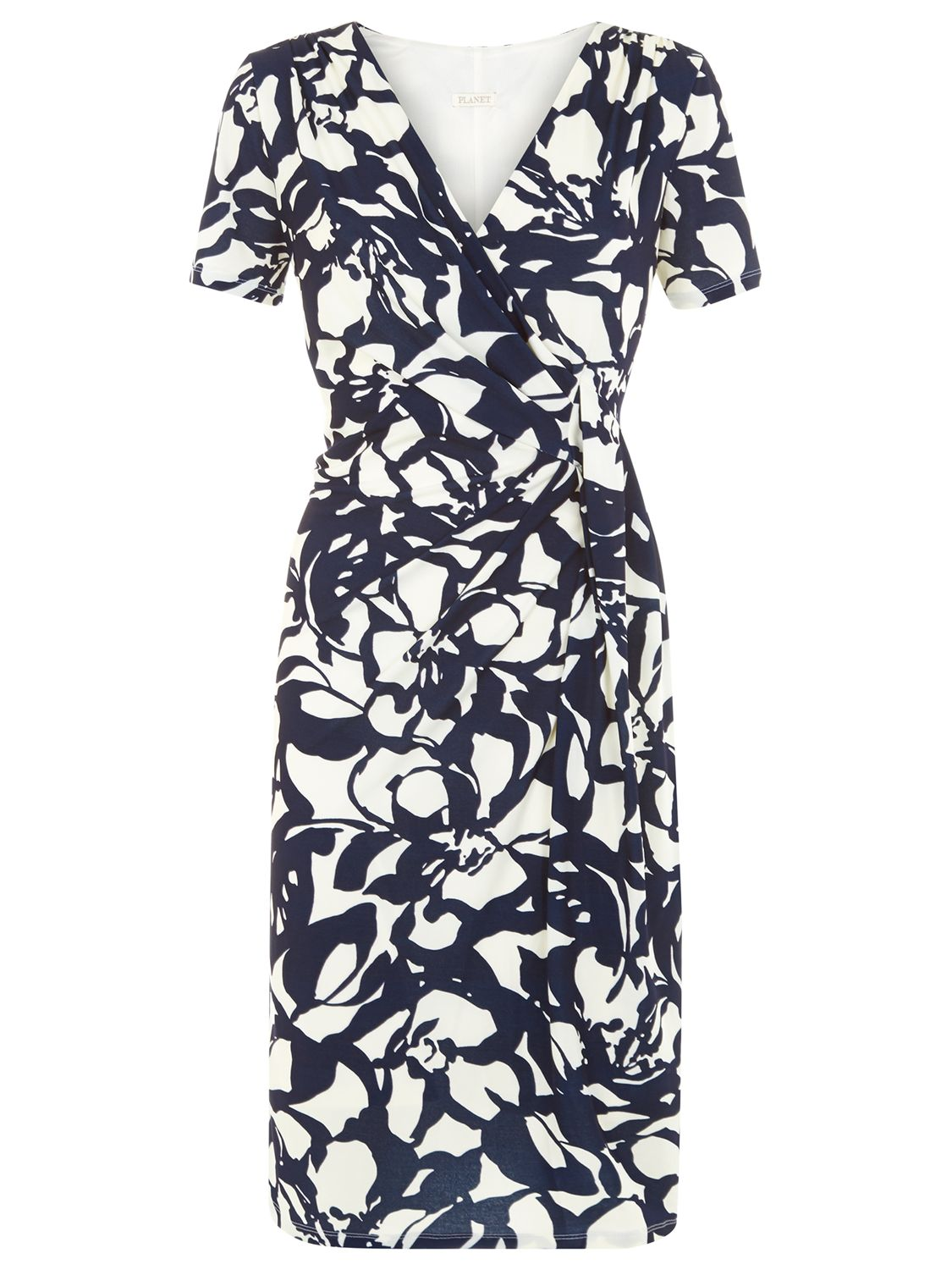 planet abstract print ity dress navy, planet, abstract, print, ity, dress, navy, 18|14|8|12|20|16|10, women, plus size, womens dresses, 1885584