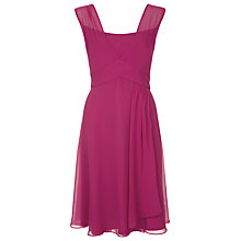 Buy Kaliko Crepe Dress, Pink Online at johnlewis.com