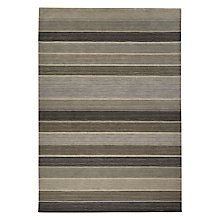 Buy John Lewis Multistripe Rug, Grey, L240 x W70cm Online at johnlewis.com