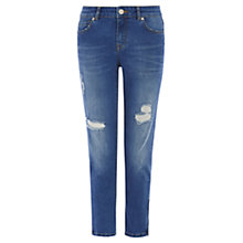 Buy Oasis Isabella Skinny Cropped Jeans, Denim Online at johnlewis.com