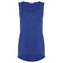 Buy Oasis Angled Seam Vest Top Online at johnlewis.com